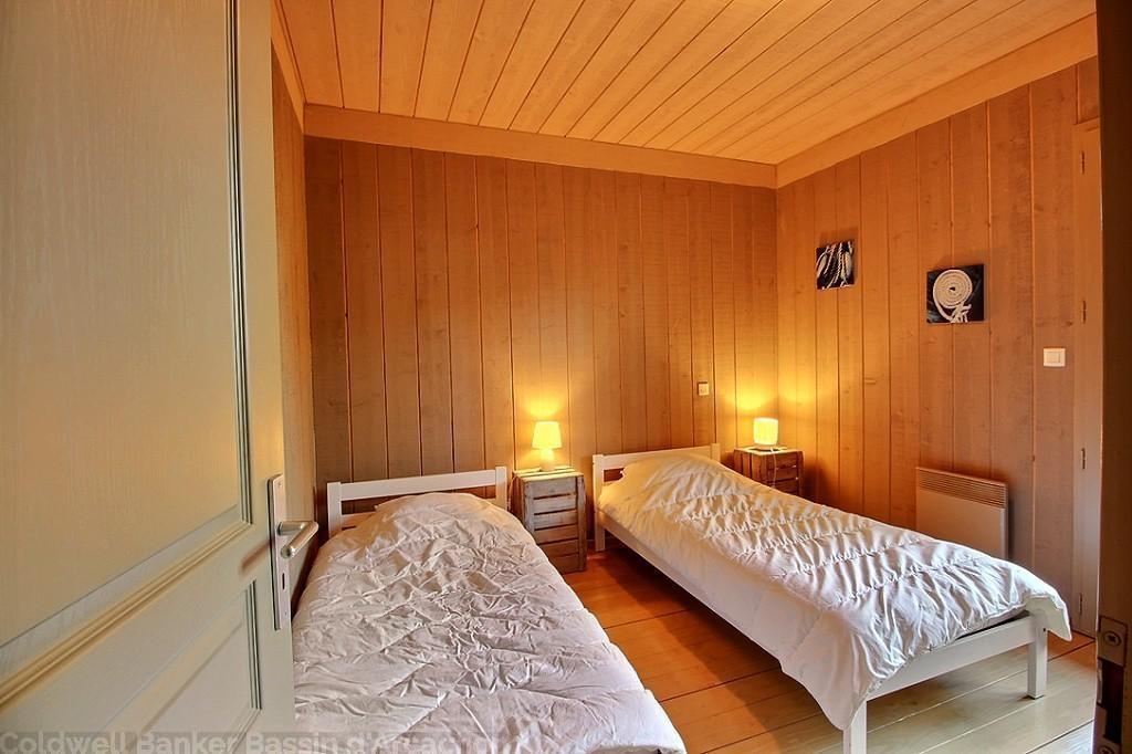 Location villa 3 chambres - 6 personnes - plein de charme esprit cabane CAP-FERRET CENTRE