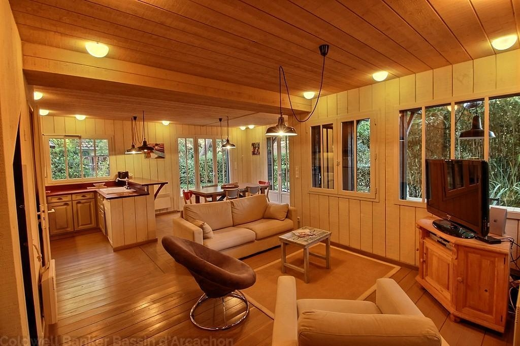 Belle villa lumineuse bois vacances Cap-Ferret