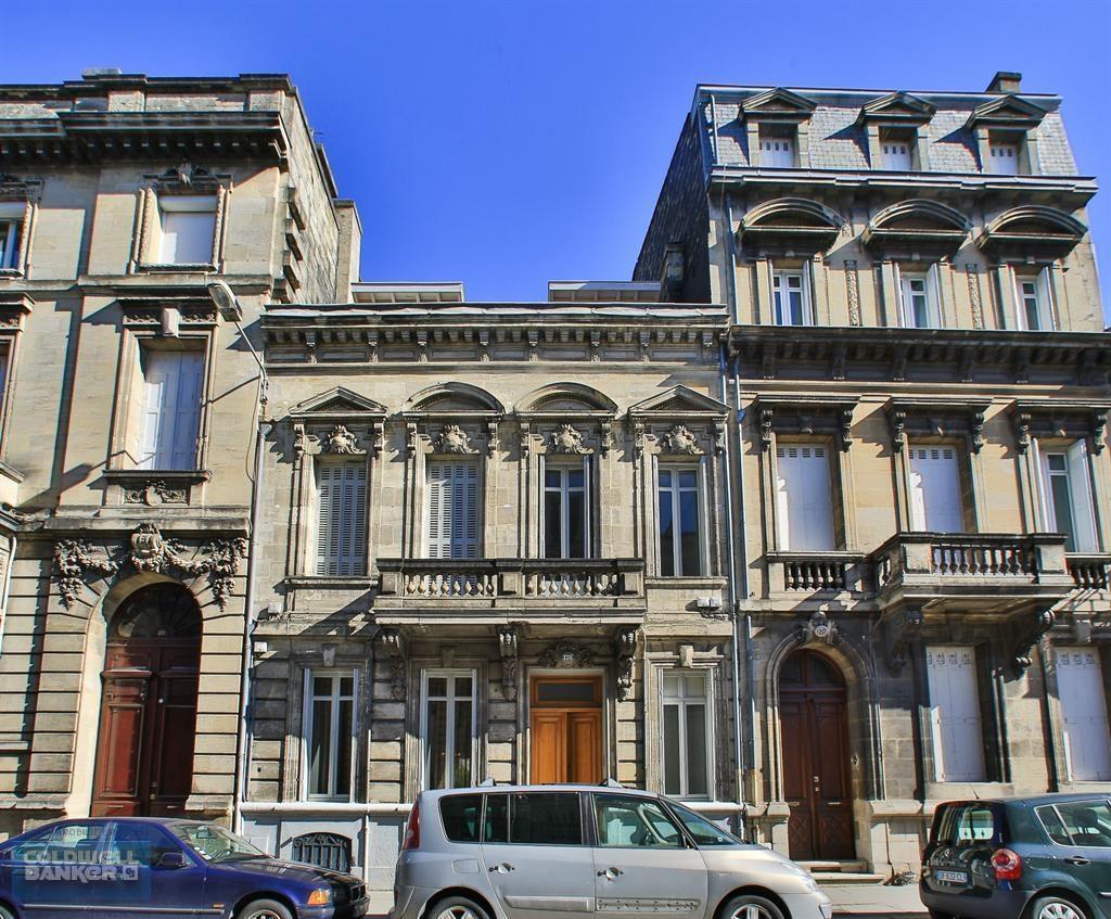 Vente maison villa bordeaux saint genes demeure du 19 me for Maison bordeaux