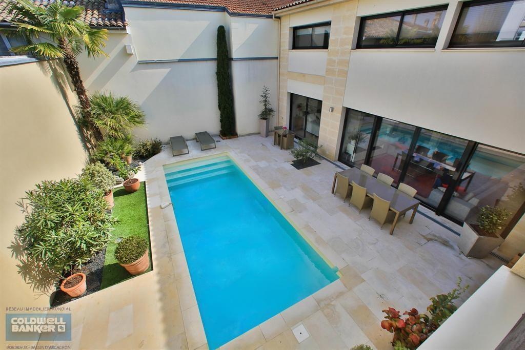 Vente maison villa bordeaux le bouscat villa for Piscine du bouscat