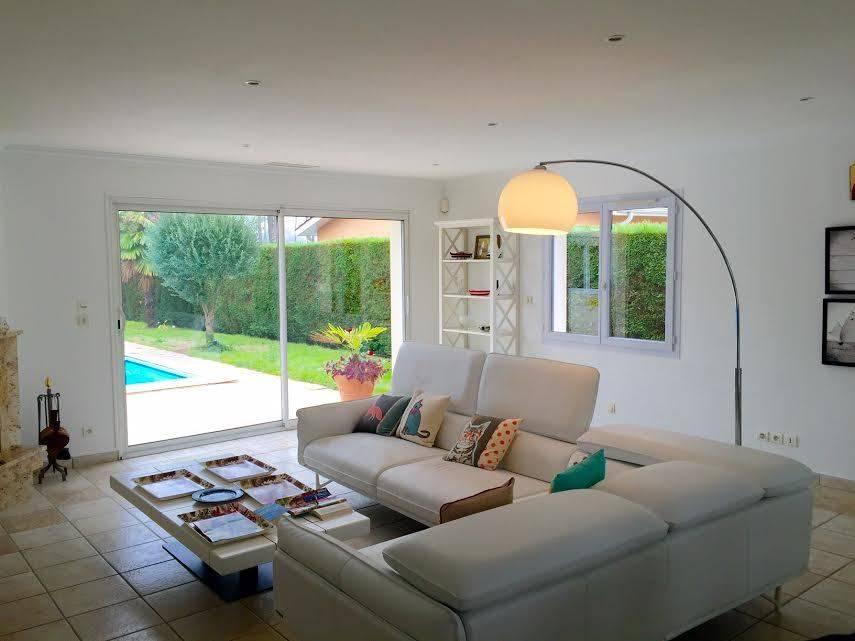 acheter une villa récente avec piscine de plain pied au golf de gujan mestras