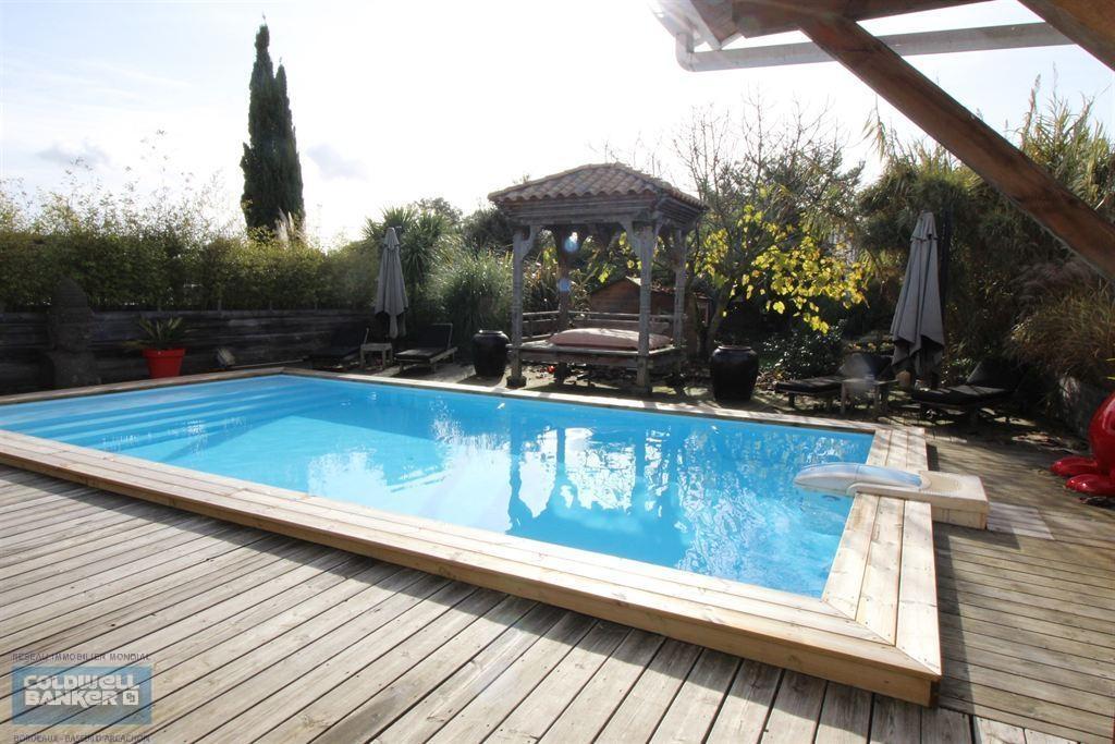acheter villa d'architecte avec grand terrain et piscine la Hume 33