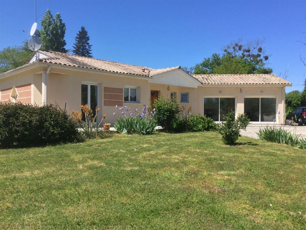 Vente maison villa proche bordeaux neuffons 33580 for Vente maison moderne