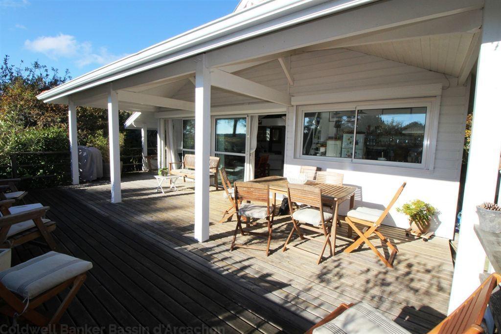 Villa bardage bois à vendre La Teste de Buch au calme - 4 chambres - grand terrain sans vis à vis