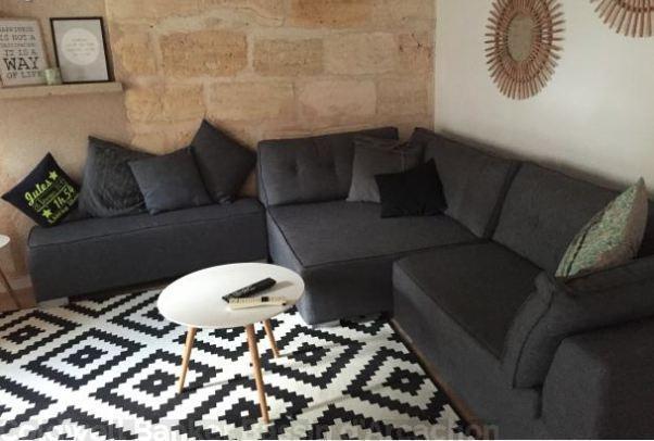 Appartement en duplex de 80 m enti rement r nov avec 2 for Acheter un appartement 0 bordeaux