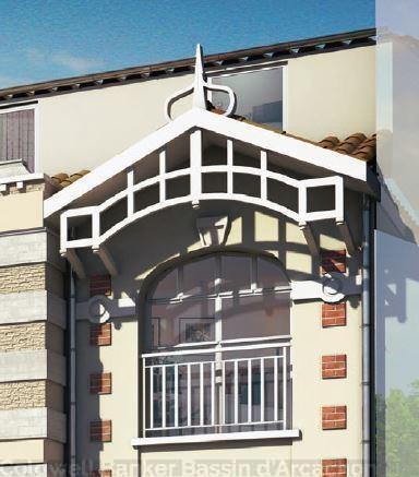 Appartement neuf T3 à vendre au centre d'arcachon proche plage et commerces