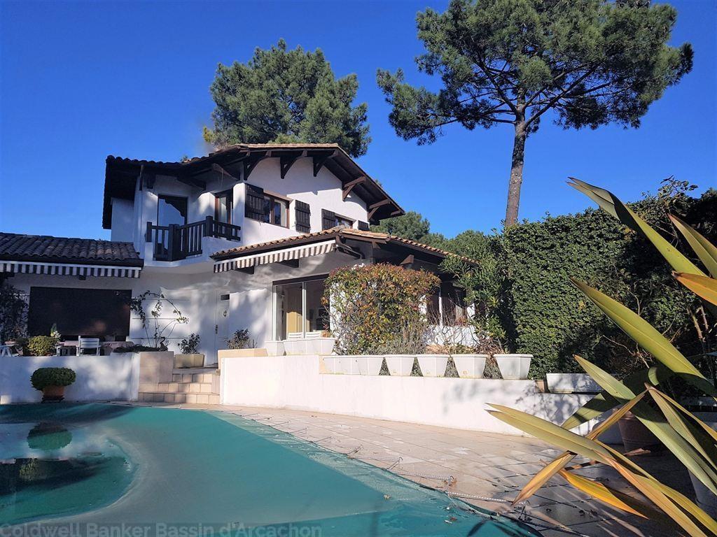 Villa type gaume avec piscine à vendre à Pyla sur Mer Ermitage