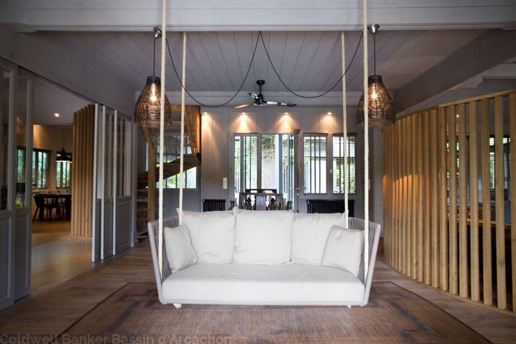 achat grande maison secondaire avec piscine le Mimbeau Cap Ferret