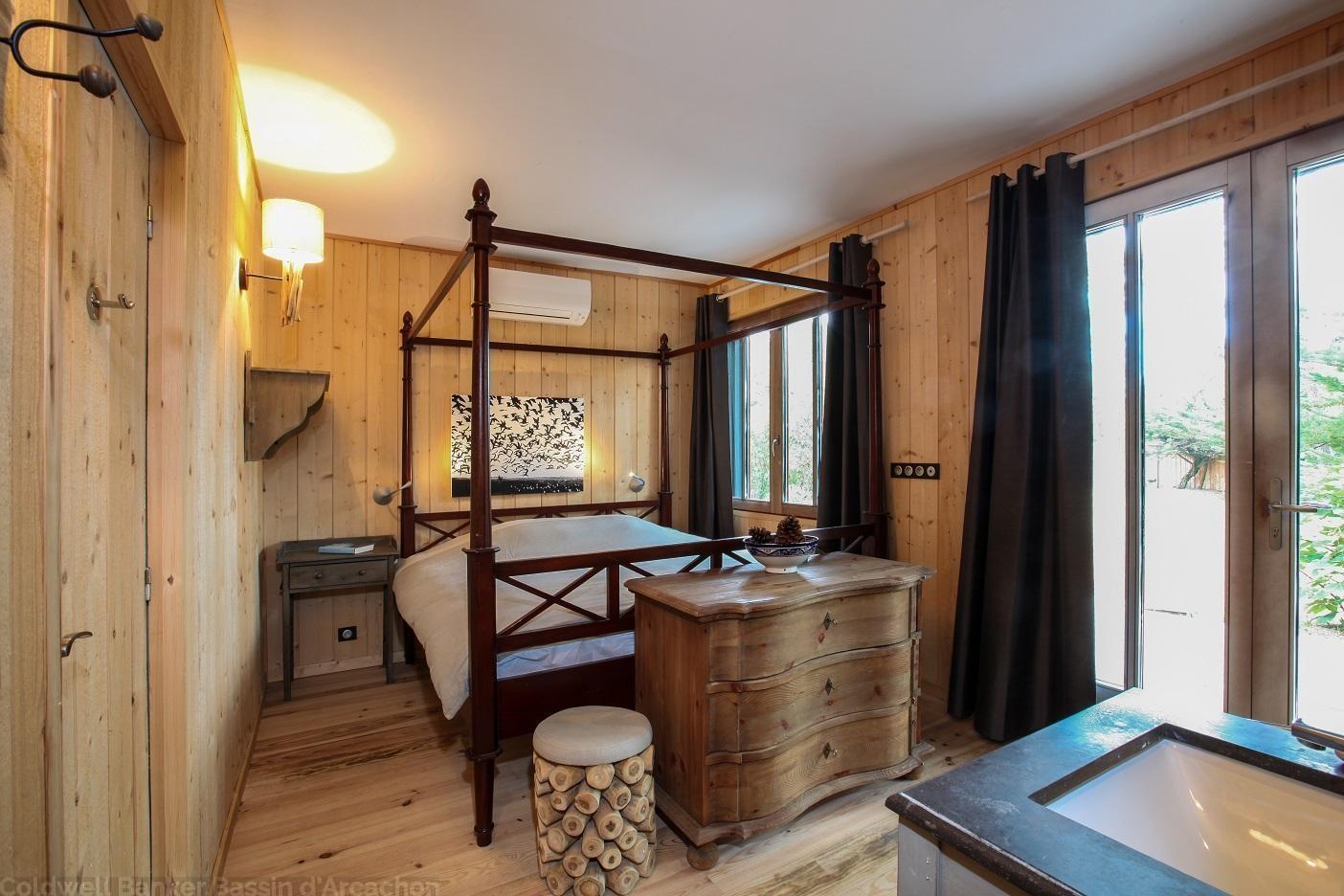 louer villa pour été les pieds dans l'eau sur Cap ferret