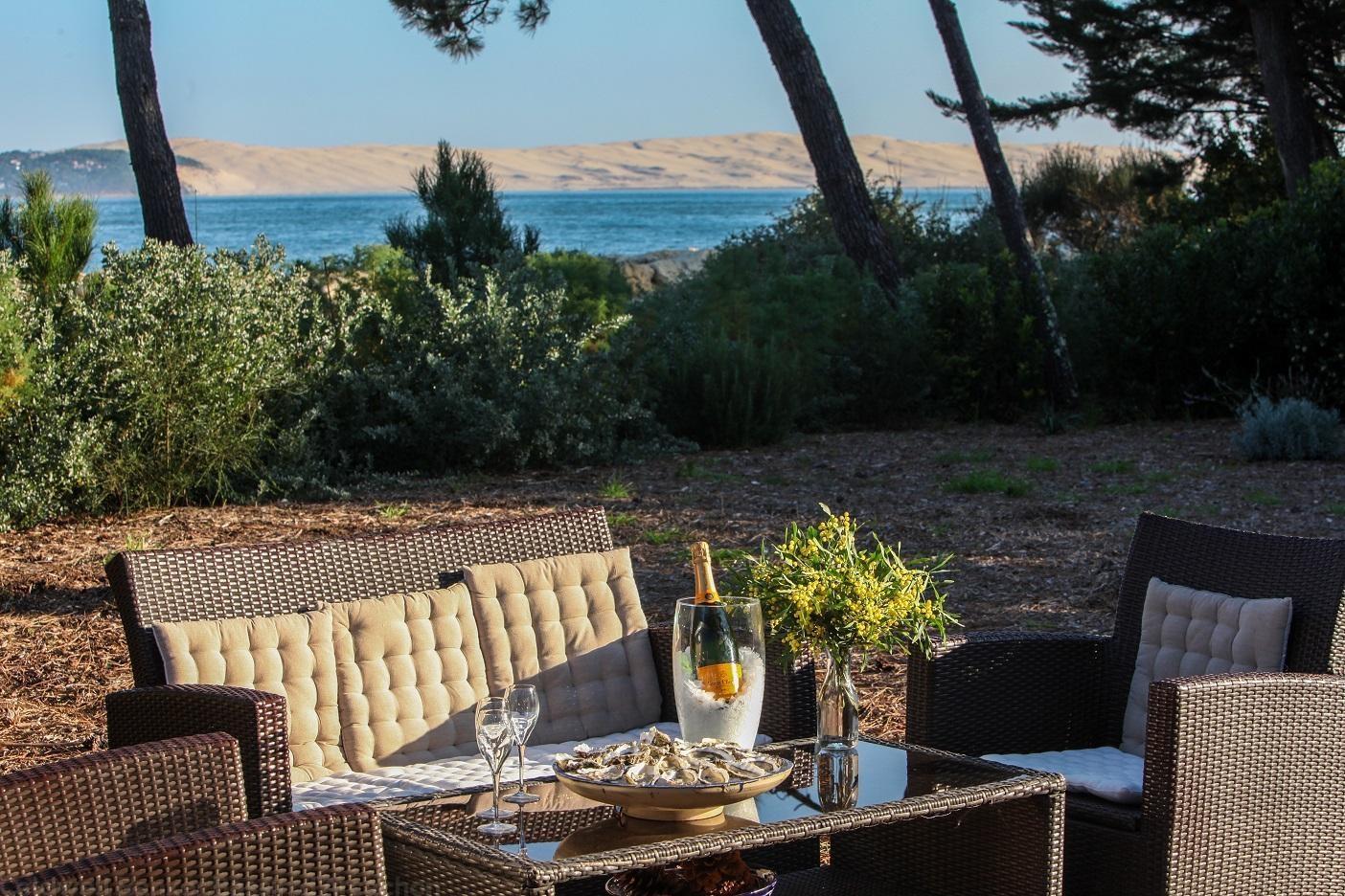 villa de luxe en location été Cap Ferret