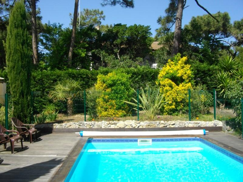 location maison familiale avec piscine proche plages Cap Ferret