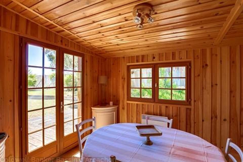 villa en bois à louer cet été au cap-ferret