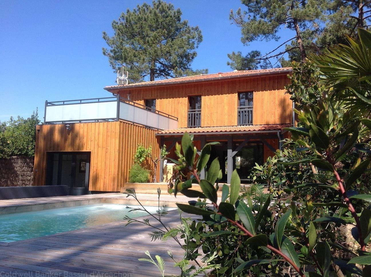Villa à louer 4 chambres 8 couchages piscine proche Cap-Ferret
