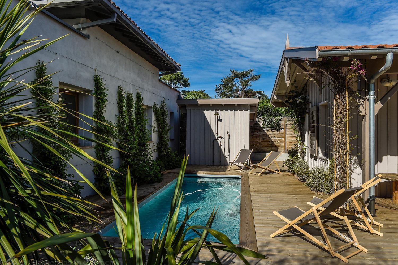 Villa de standing avec piscine à louer sur le Cap-Ferret