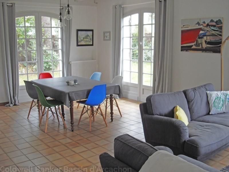 Agréable villa 8 couchages en location sur le bassin d'arcachon