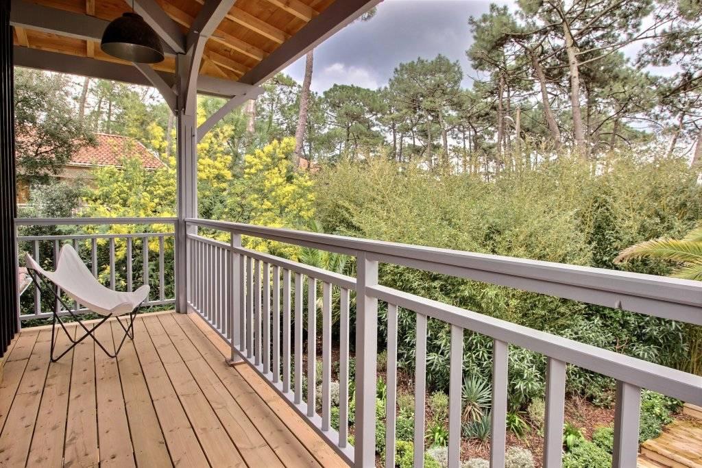 Location villa bois 4 chambres - 8 personnes - CAP-FERRET