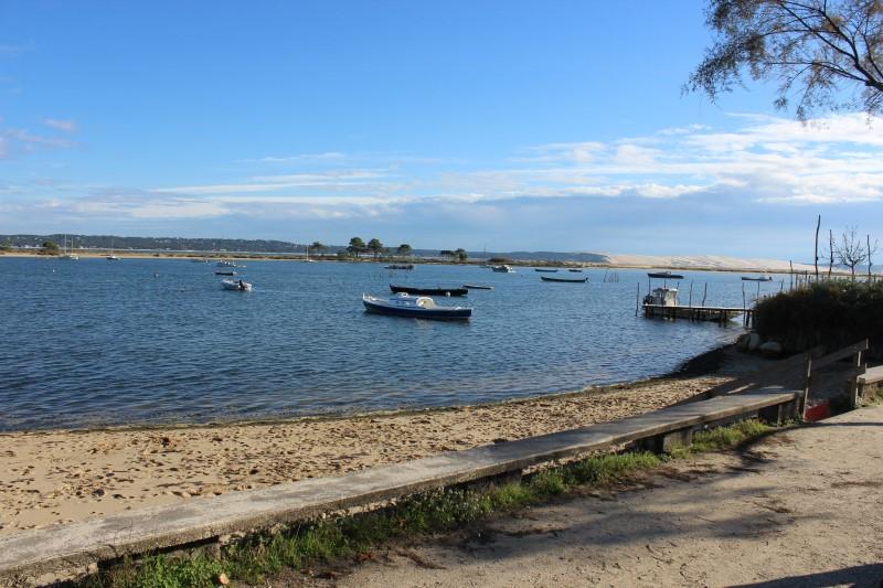 Avec vue sur le Bassin d'Arcachon villa à louer pour 7 personnes au cap-ferret
