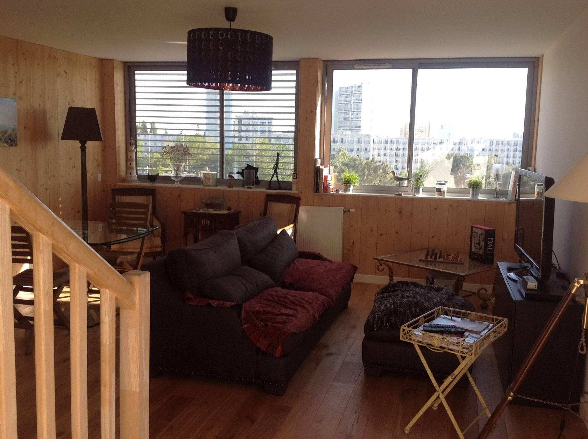Bel appartement neuf en duplex avec terrasse vendre for Appartement bordeaux