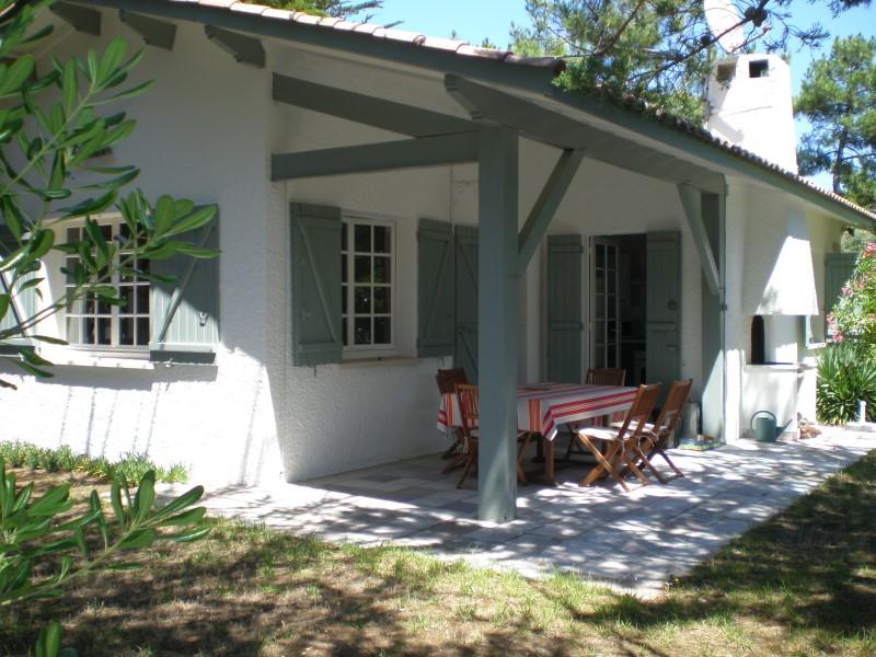 Location villa 4 chambres - 8 personnes - entre bassin et océan CAP-FERRET 44 HA