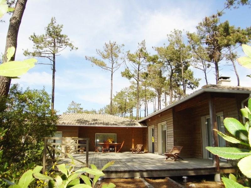 Location villa 4 chambres - 8 personnes - villa bois - secteur très recherché CAP-FERRET LE CANON