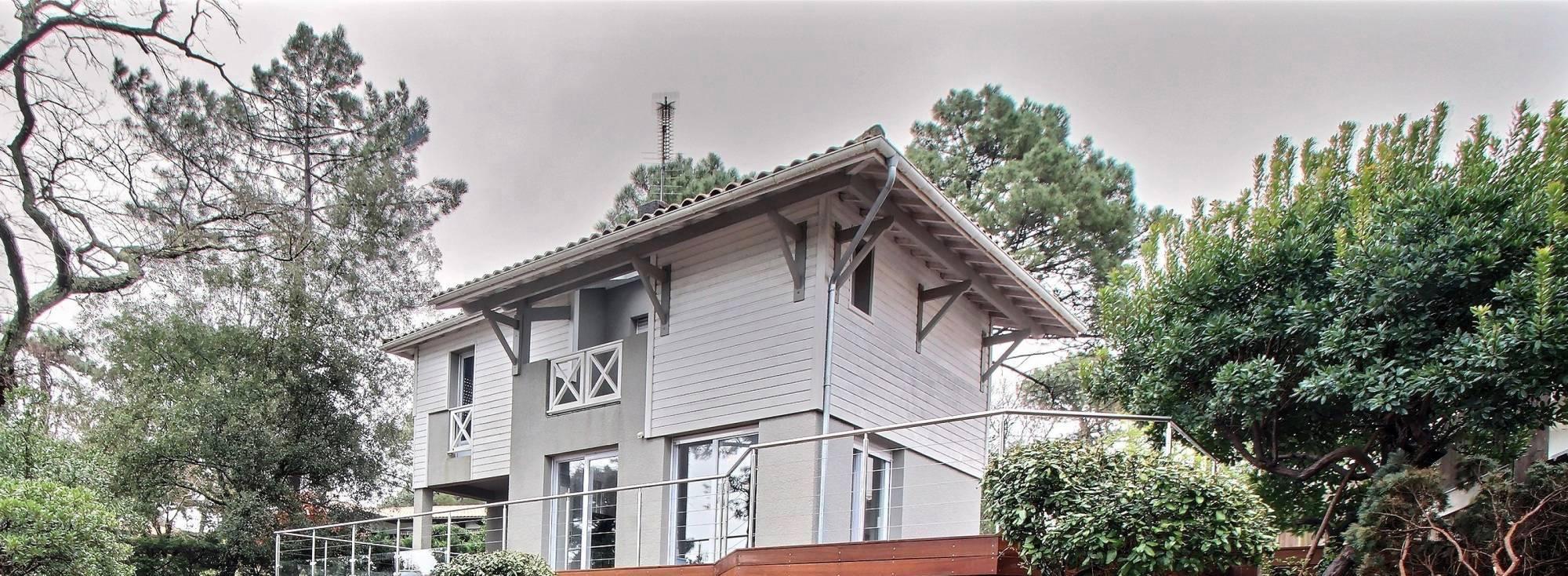 Location villa de standing PYLA SUR MER - 4 chambres - 8 personnes