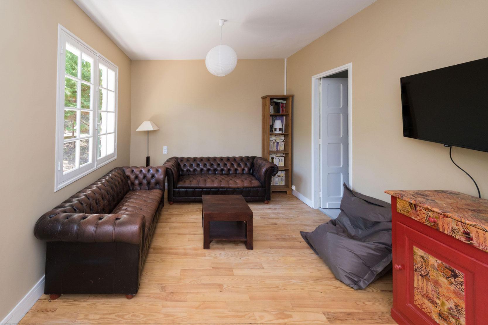 location villa haitza plage 8 personnes 4 chambres calme louer