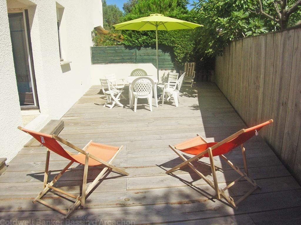 Appartement duplex 4 personnes dans r sidence priv e for Residence vacances arcachon avec piscine