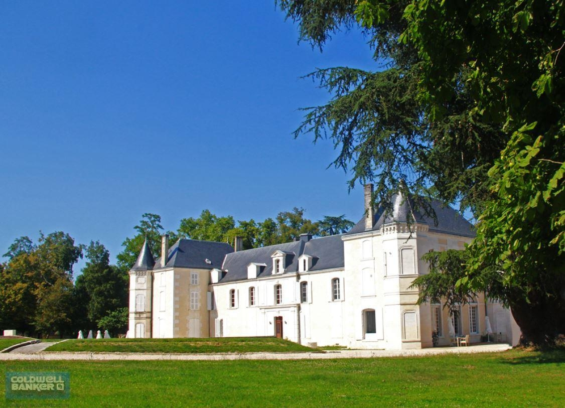 vente château rénové à Cognac avec partie vignoble