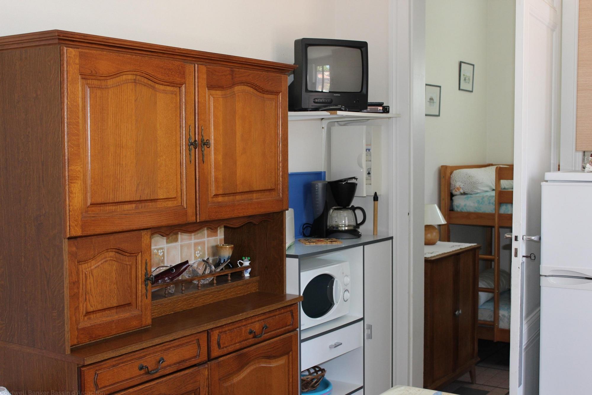 Location appartement t2 f2 cap ferret quartier ostr icole for Chambre 4 personnes