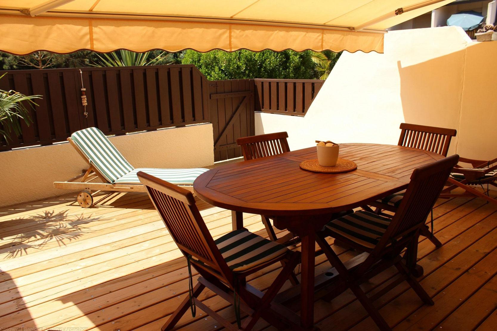 Location de vacances appartement pour 4 personnes centre cap-ferret