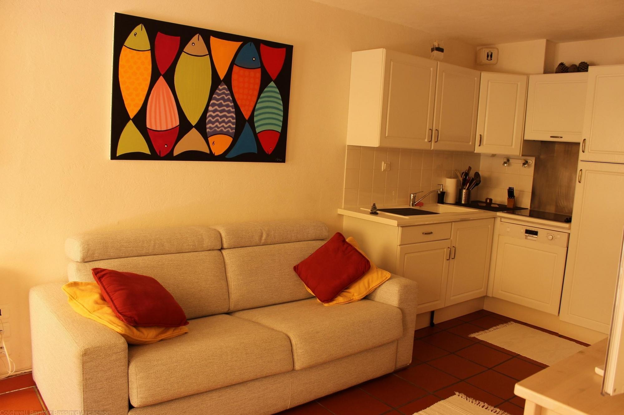 Location appartement cap ferret centre 1 chambre 4 for Chambre 4 personnes
