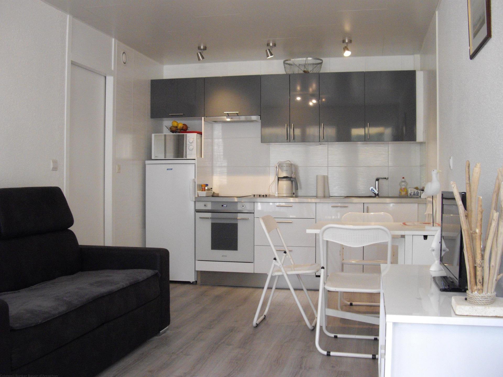 Location saisonnière cap-ferret appartement  plain pied 2 couchages