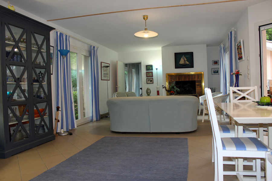 location villa plage arcachon piscine
