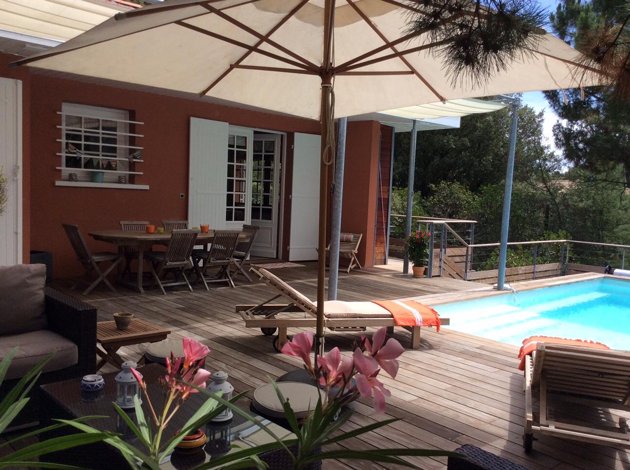 Le Moulleau - Villa de vacances à louer proche plage 12 personnes