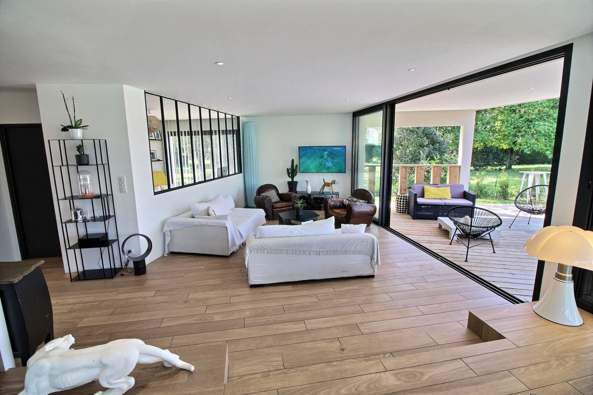 vente maison neuve avec piscine de plain-pied la hume gujan mestras bassin d u0026 39 arcachon