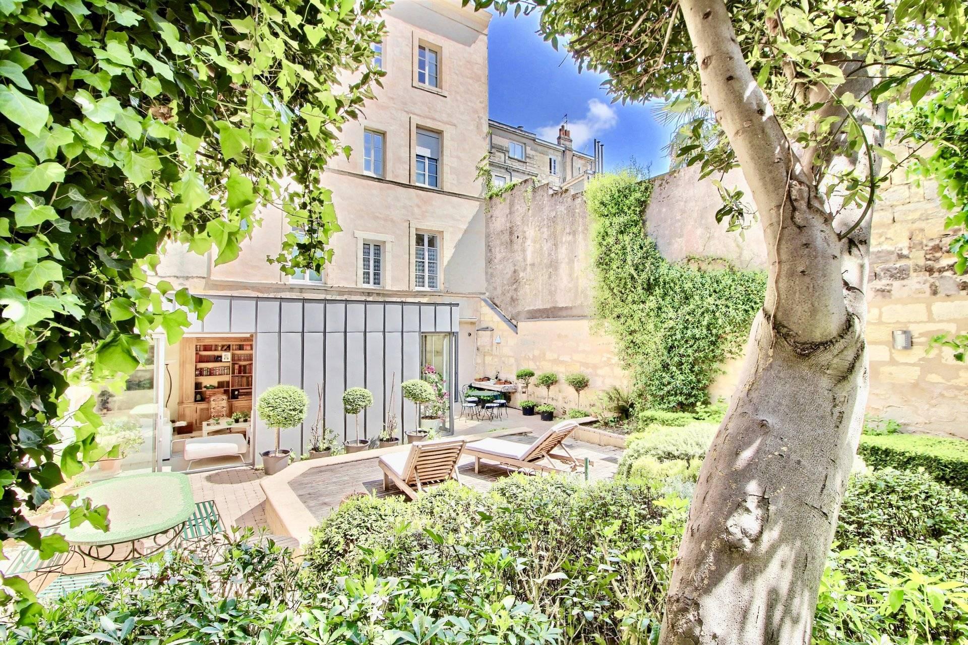 Recherche sublime appartement avec jardin et terrasse BORDEAUX HYPER CENTRE