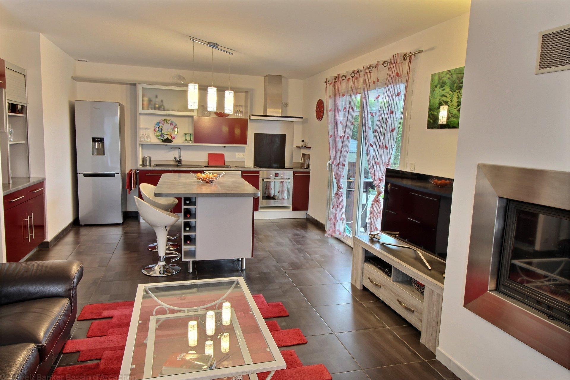 Acheter maison contemporaine 4 chambres bassin d arcachon gujan mestras
