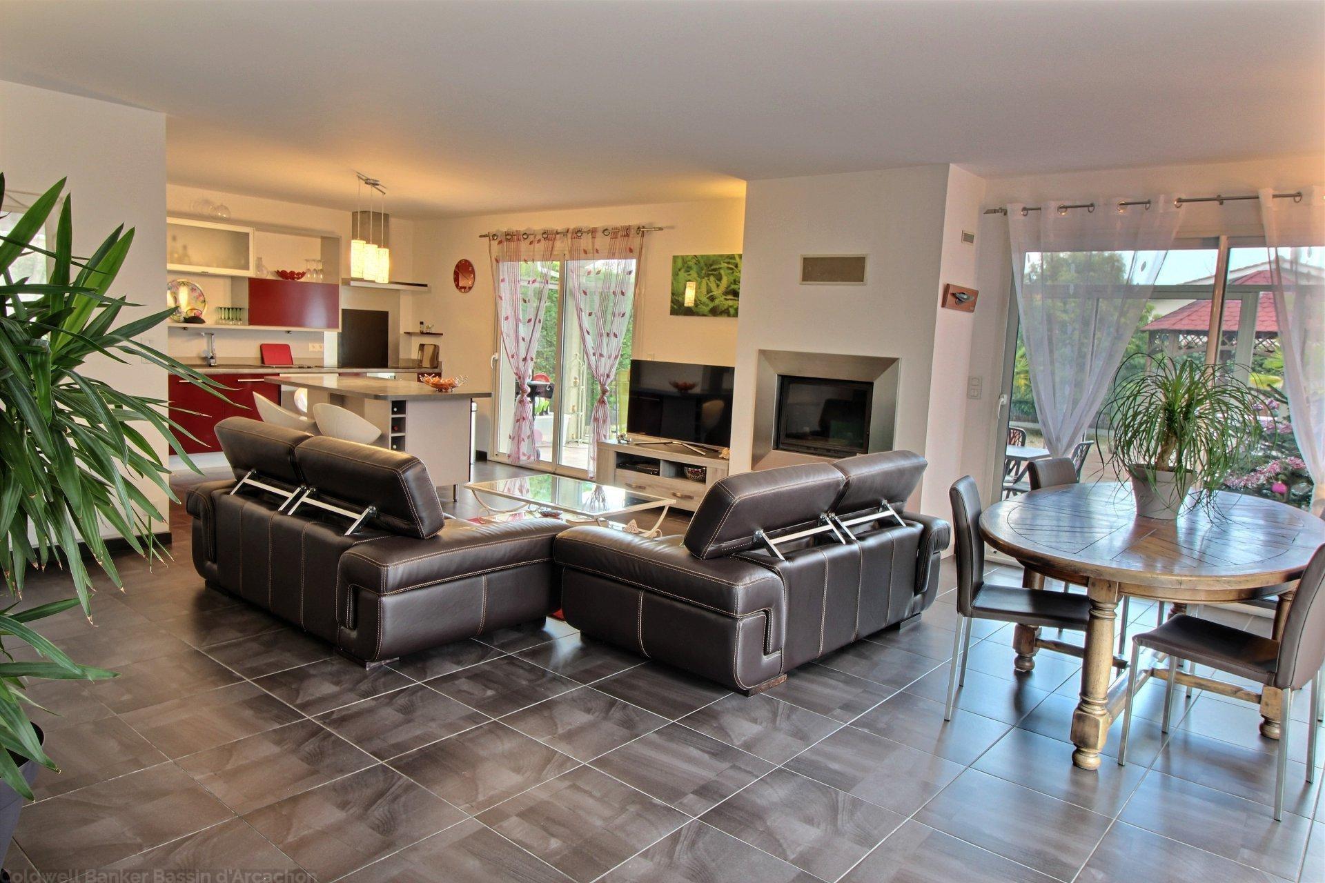Vente maison contemporaine 4 chambres bassin d arcachon gujan mestras