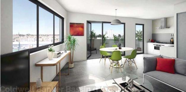 Appartement neuf à vendre à Bordeaux Bassin à flots - 4 chambres et terrasse - au dernier étage