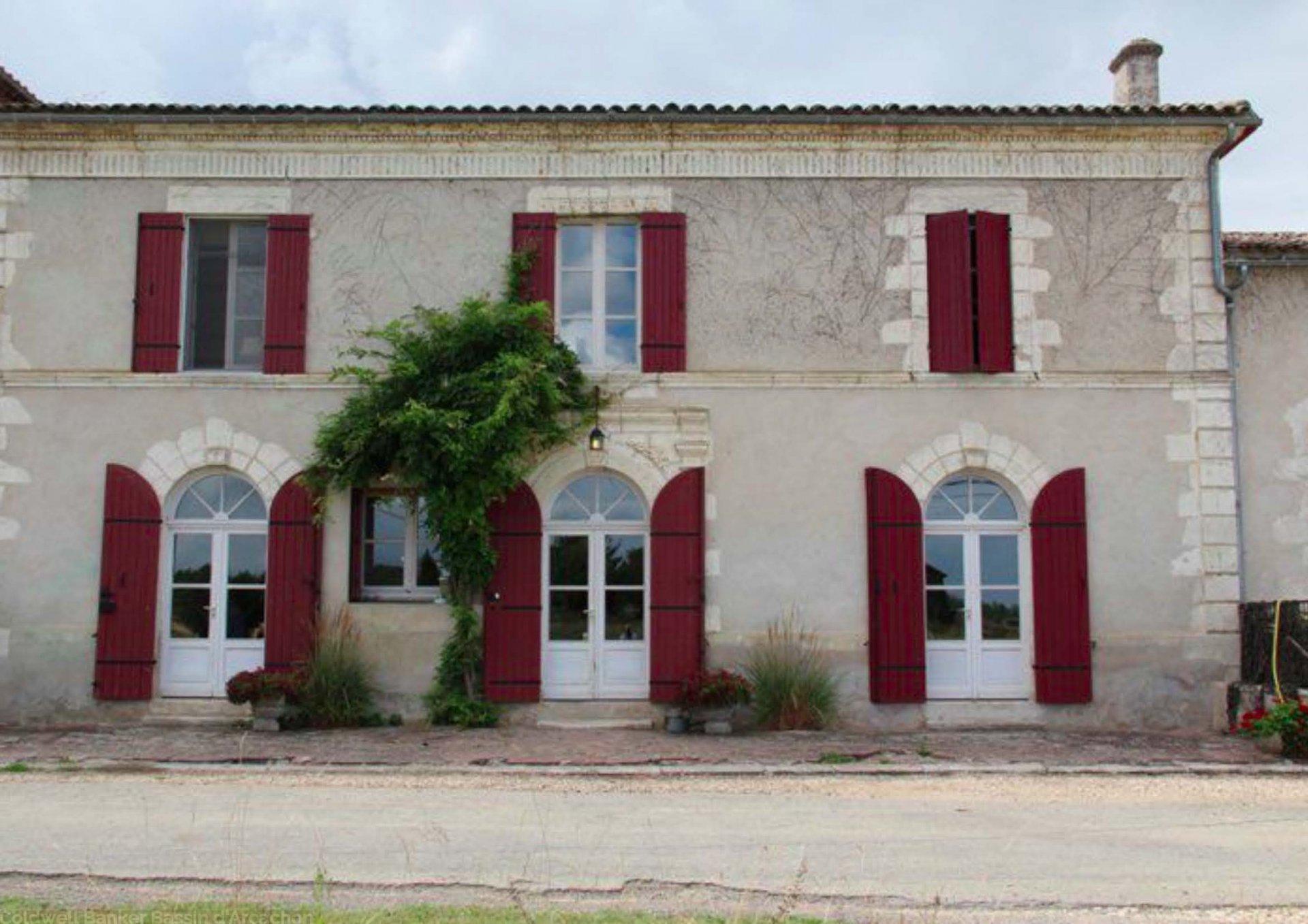 maison de campagne 4 chambres a vendre environs bordeaux a roquebrune