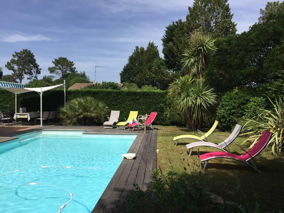 Vente de maisons et appartement sur le bassin arcachon et - Camping bassin d arcachon avec piscine ...