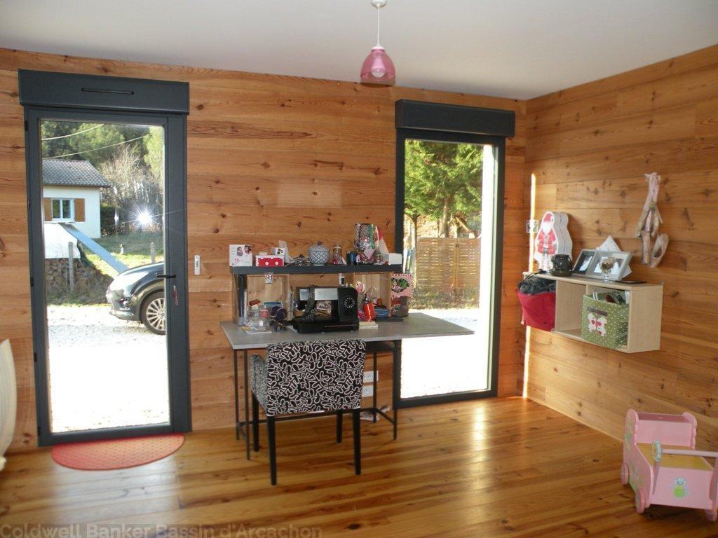 Maison ossature bois de 4 chambres vendre entre bordeaux et le bassin d 39 arcachon salles - Chambre des coproprietaires ...