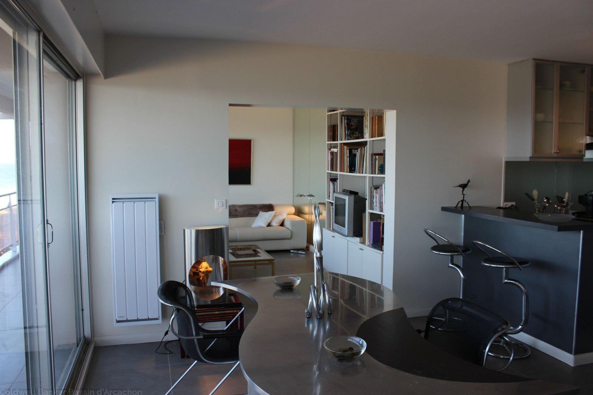 vente appartement terrasse vue mer bassin d arcachon