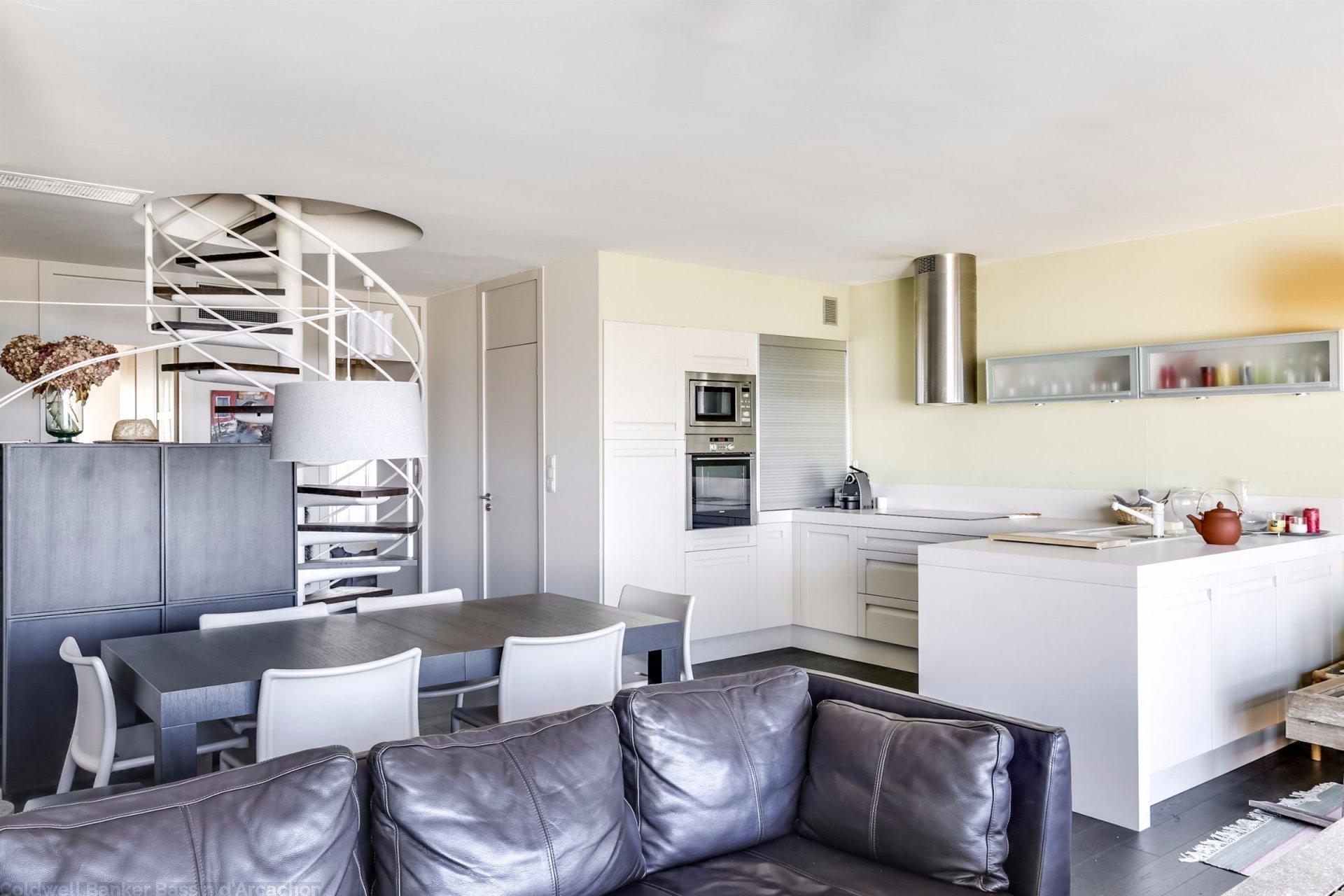 appartement de standing 1ère ligne à la vente Moulleau Bassin Arcachon