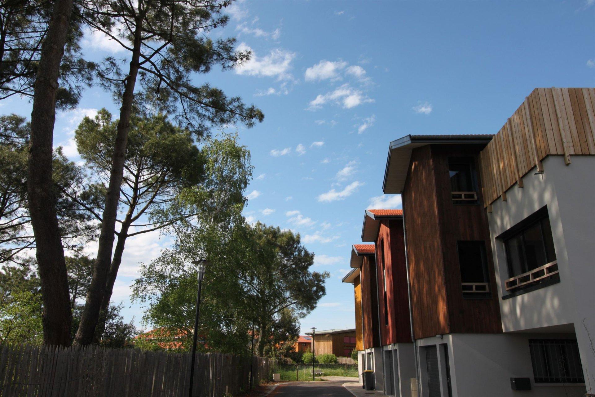 Villa d'architecte en bois neuve à vendre LA TESTE DE BUCH