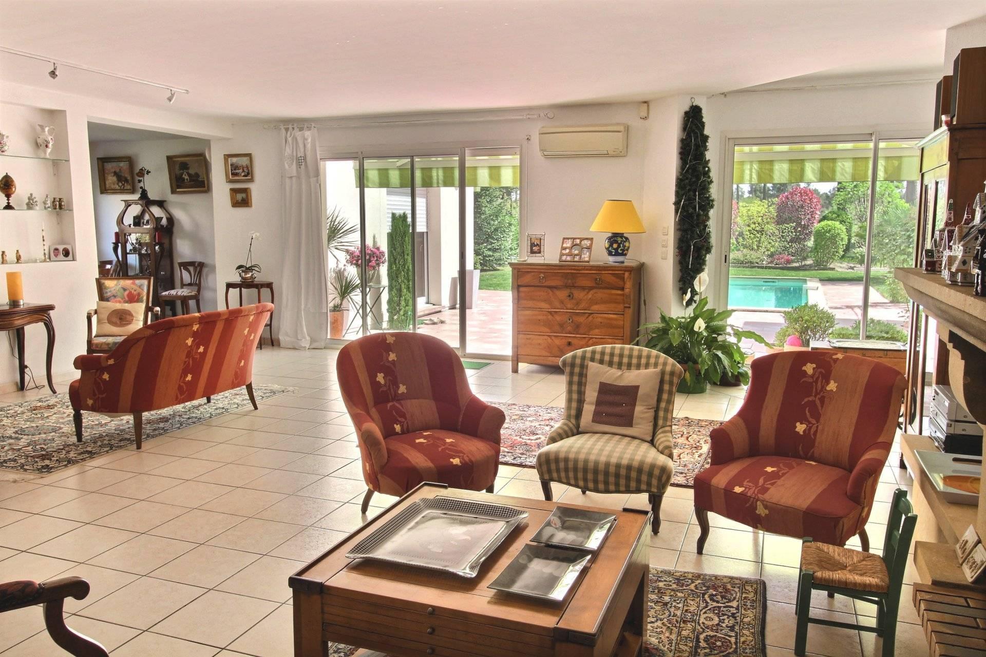 Vente maison contemporaine avec piscine golf Bassin d'Arcachon
