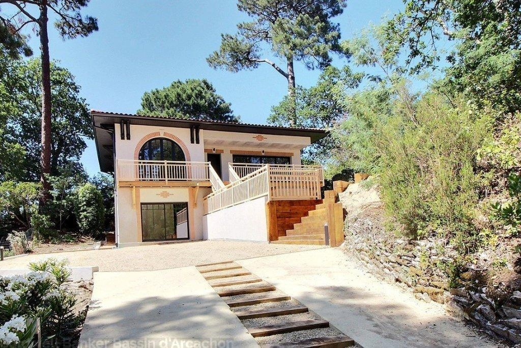 achat villa style arcachonnaise 5 chambres au calme Arcachon