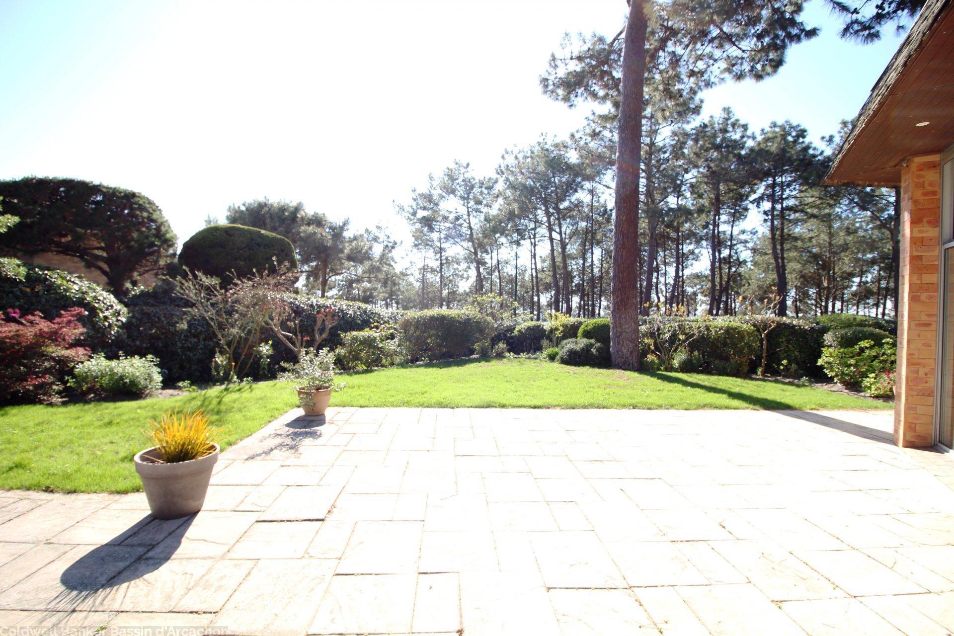 grande terrasse villa arcachon 1e ligne pereire