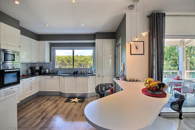 Vente villa contemporaine 4 chambres avec piscine Le moulleau arcachon