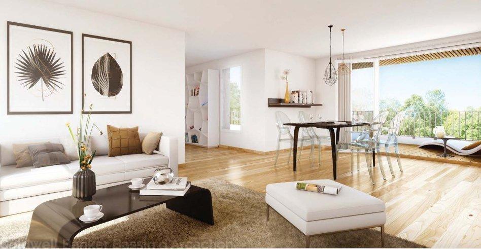 Appartement neuf proche bordeaux à bruges avec pièces de vie lumineuses